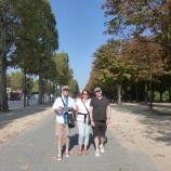 Three flaneurs in Paris