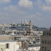 View to Sacre Coeur from Printemps