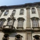 Shuttered facade