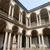 Inside the Palazzo de Brera