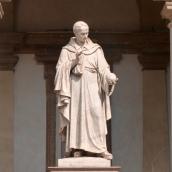 Statue inside the Palazzo