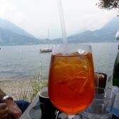 Lakeside aperitivo