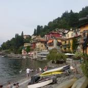 Lakeside on Lake Como