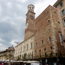 Piazza Erbe - the market square in Verona