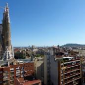 View across the city
