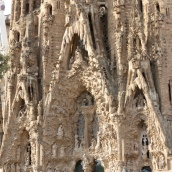The Nativity Facade is incredibly intricate