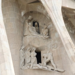 The Passion facade is minimalist
