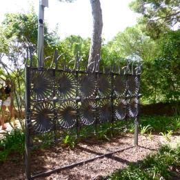 A railing designed by Gaudi