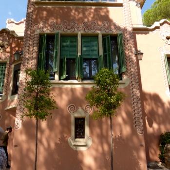 Gaudi's modest house