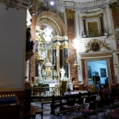 The amazing altar in the Basilca
