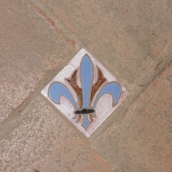 Floor tile in the palce