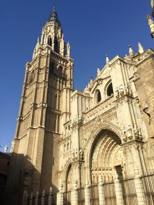 Exterior of the Cathedral and Bell Tower