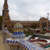 Plaza de Espana - some of Star Wars Attack of the Clones waw filmed her