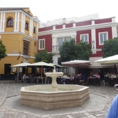 Pretty square in the Jewish Quarter