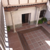 The courtyard in the house