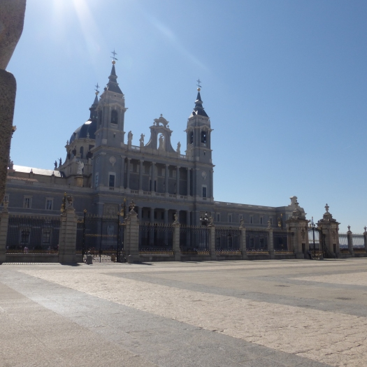 The Cathedral faces the Royal Palace
