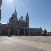 La Almudena - the Catholic Cathedral in Madrid