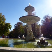 Fountain in Buen Retiro Park