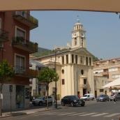 Local church in Cassino