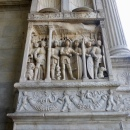 Relief on the triumphal arch