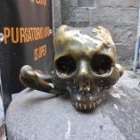 Rub this skull for good luck