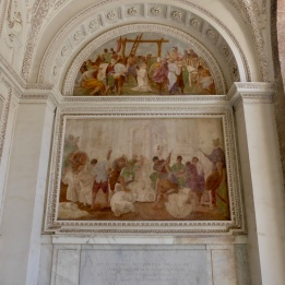 Beautiful art in the church