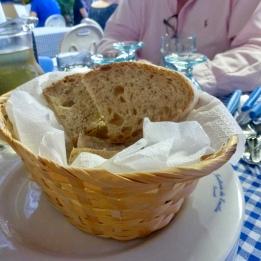 The chunky dense bread