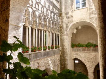 The Cortile - the Moorish courtyard