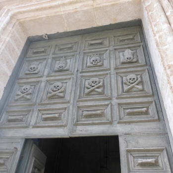 Entrance to the Church of the Purgatory