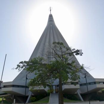 Spire of Santuario della Madonna delle Lacrime