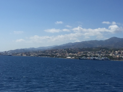 Looking towards Messina