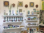 Local Majolica ceramic shop