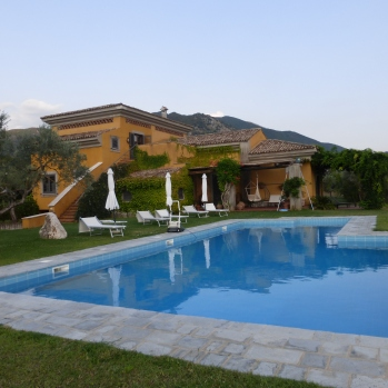 House and Pool at beautiful Le Ninfee