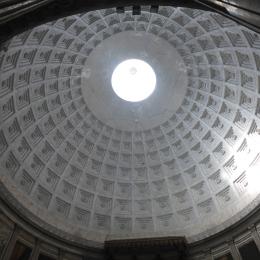 The dome of the Church of San Francesco di Paola