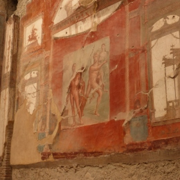 Fresco in the Hall of the Augustals