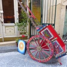 Iconic Sicilian cart