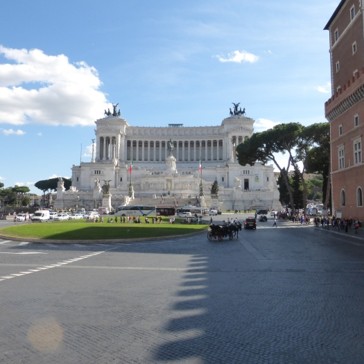 The Vittorio Emanuele II Monument - Romans call it the Wedding Cake