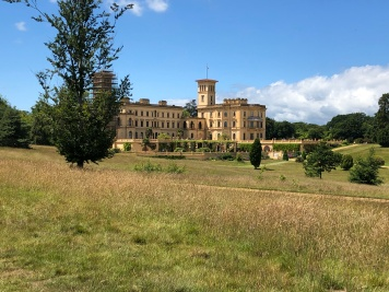 A different view of Osborne House